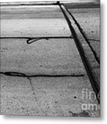 Overflowed Sinlence Metal Print