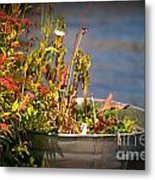 Overflower Metal Print
