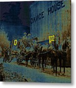 Overland Stage Raiders Homage 1938 Stagecoach 1894 Photo Metal Print
