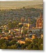 Overlooking San Miguel De Allende Metal Print