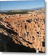 Overview At Bryce Canyon Metal Print