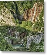 Overview Of Plitvice Metal Print