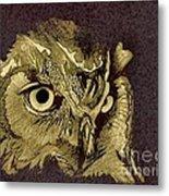 Owl Metal Print