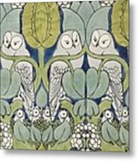 Owls, 1913 Metal Print