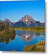 Oxbow Bend II Metal Print