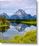 Oxbow Summer Metal Print