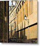 Oxford Alleys Metal Print