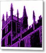 Oxford England 1986 Purple Spirals Art1 Jgibney The Museum Gifts Metal Print