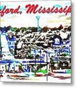Oxford Mississippi 38655 Metal Print