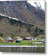 Oye Norway Metal Print