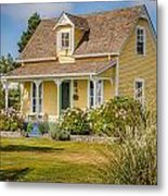 Oysterville Home 9 Metal Print