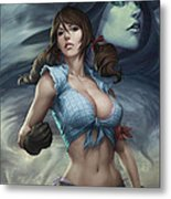 Oz 01b Metal Print by Zenescope Entertainment