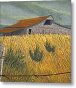 Ozark Barn Madison County Metal Print