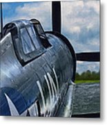 P-47 Thunderbolt Metal Print