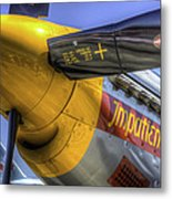 P-51 Impatient Virgin Metal Print