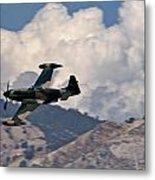 P-51 Patrol Metal Print
