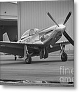 P-51d Spam Can Metal Print