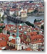 Prague - Charles Bridge Metal Print
