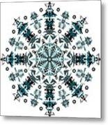 P2 Mandala Metal Print