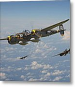 P38 Lightning - Pacific Patrol Metal Print