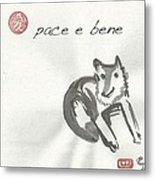 Pace E Bene Metal Print