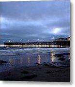 Pacific Beach Pier Metal Print