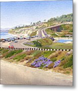 Pacific Coast Hwy Del Mar Metal Print by Mary Helmreich