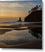 Pacific Coast Sunset Metal Print