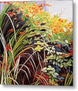 Pacific Crocosmia Metal Print