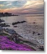 Sunset In Pacific Grove Metal Print