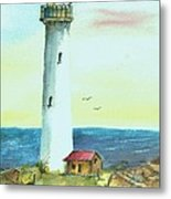 Pacific Lighthouse Metal Print