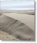 Pacific Ocean Sand Dunes Metal Print