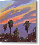 Pacific Sunset 1 Metal Print