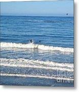 Pacific Surfer Metal Print