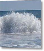 Pacific Wave II Metal Print