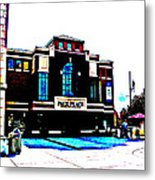 Pack Place In High Contrast Metal Print