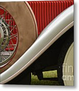 Pack Up Your Worries In A Packard Metal Print