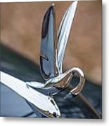 Packard Hood Ornament Metal Print