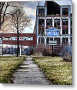 Packard Motel Metal Print