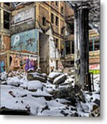 Packard Plant Detroit Michigan - 11 Metal Print