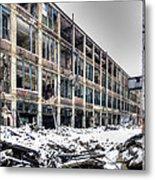 Packard Plant Detroit Michigan - 12 Metal Print