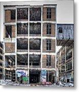 Packard Plant Detroit Michigan - 14 Metal Print