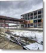Packard Plant Detroit Michigan - 7 Metal Print
