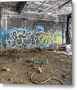 Packard Plant Detroit Michigan - 8 Metal Print