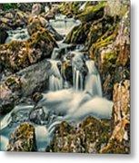 Packhorse Waterfall Metal Print