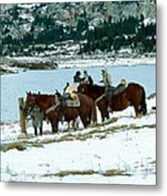 Packing Up Metal Print by Eric Glaser