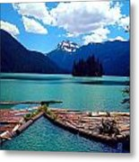 Packwood Lake Metal Print