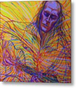 Paco De Lucia And Guardian Angel Metal Print