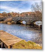 Padarn Bridge Metal Print