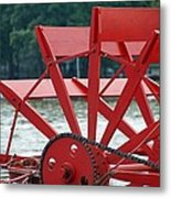 Paddle Boat Metal Print by Thomas Fouch